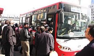 في حماة...10 مراقبين لـ550 باصاً للنقل الداخلي!!