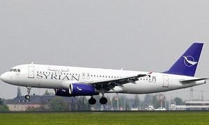 السورية للطيران تنفذ 339 رحلة منها 175 رحلة دولية..ونحو 134 ألف راكب الشهر الماضي