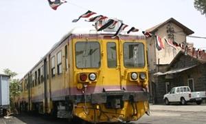مصادر : وزارة النقل تدرس دمج مؤسستي  الخطوط الحديدية بمؤسسة واحدة مقرها دمشق