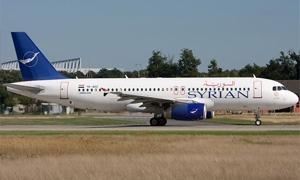 النقل توقف الحسومات على تذاكر السورية للطيران حتى نهاية العام