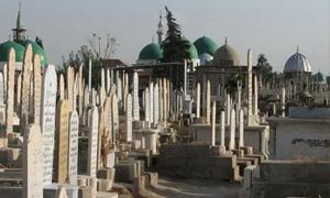 30مقبرة بدمشق.. وكلفة تجهيز القبر بـ12500 ليرة في مقبرتي كفرسوسة والمزة 86