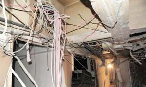 95 مليون ليرة أضرار شبكة الاتصالات في حمص