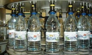 85 ألف دولار مبيعات الشركة العامة لتعبئة المياه في النصف الأول من العام .. ودعوة لتمديد فترة منع استيراد المياه المعبأة