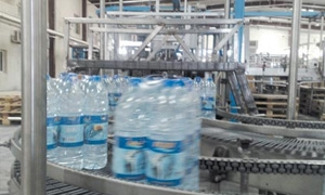 85 مليون ليتر من المياه المعدنية مبيعات