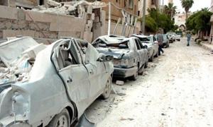 محافظة دمشق: 800 مليون ليرة التعويضات المصروفة حتى الآن ...والبدء برصد  حالات السيارات المفقودة والمدمرة