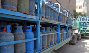أكثر من 2500 ضبط تمويني خلال شهر ونصف..ومصادرة 800 أسطوانة غاز في ريف دمشق بقصد بيعها بأسعار زائدة