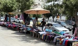 محافظة دمشق تبدأ بحملات لإزالة البسطات من شوارع دمشق وخاصة شارع الحمراء