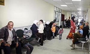 العيادات الشاملة في حماة تقدم أكثر من 52.7 ألف خدمة طبية