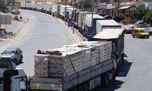 النقل البري في طرطوس..معاناة بالجملة ومطالب بتنظيم وضبط نقل البضائع