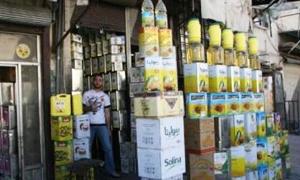 ضبط ثلاثة أطنان من زيت الزيتون المغشوش في دمشق