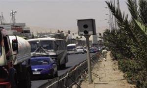 دمشق: تنظيم ضبوط لـ10 آلاف مخالفة مرورية التقطت عبر الكاميرات