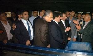 رئيس الحكومة يطلق مجموعة مشاريع خدمية وتنموية بطرطوس بقيمة  ملياري ليرة سورية