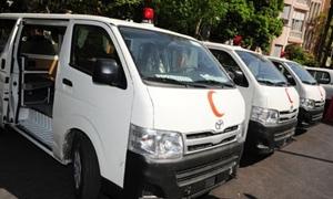 وزارة الصحة تزود محافظة طرطوس بسيارات إسعاف وأدوية