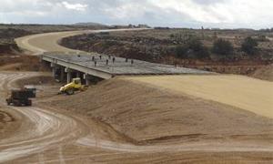 الشركة العامة للطرق والجسور توقف مشاريعها في كافة المحافظات باستثناء طرطوس واللاذقية