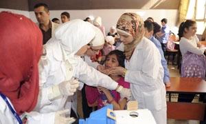 وزير الصحة: تلقيح مليونين و988 ألف طفل ضد شلل الأطفال الشهر الماضي
