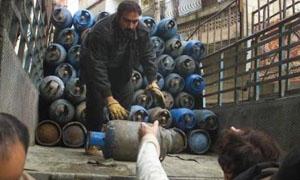 محافظة دمشق: توزيع 18 ألف إسطوانة غاز بسعر 1100 ليرة للواحدة