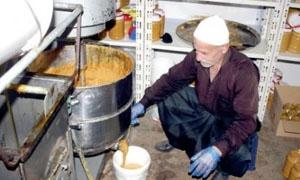 انتاج 230 طناً من دبس العنب والتفاح في السويداء