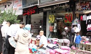 محافظة دمشق تفرض غرامة 3 آلاف ليرة على شاغلي الأرصفة مع إزالتها