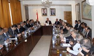 محافظ ريف دمشق: الحفاظ على الممتلكات العامة واستكمال المشاريع الحيوية وتحسين الأداء