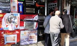 تقرير : أسعار الأدوات الكهربائية في  دمشق ترتفع 130%.. وسط ارتفاع الطلب عليها بنسبة 75%