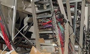 وزارة الاتصالات: 40% من الشبكة خرجت عن الخدمة