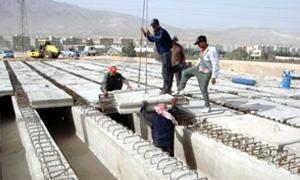 الأشغال العامة تدرس مرحلة البناء وإعادة الإعمار بتقنيات حديثة