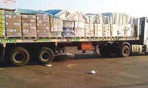 أكثر من 670 دعاوى تهريب مواد غذائية إلى سورية بقيمة 400 مليون خلال 2014..84 منها لتهريب أجهزة الموبايل