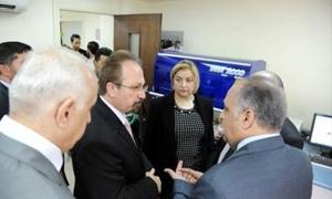 وزير الصحة: شحنة بزنة 23 طنا من الأدوية المعالجة للأمراض المنقولة بالمياه إلى حلب