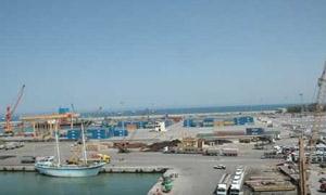 11.7 إجمالي البضائع الواردة والصادرة في