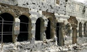 ارتفاع عدد المواقع الأثرية المتضررة في سورية إلى 167 موقعاً خلال الربع الأخير من العام الماضي