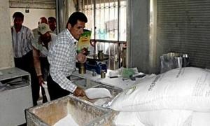 استهلاكية اللاذقية ترفع سقف توزيع المقنن لأكثر من 120 طن سكر يومياً