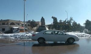 حالة الطرق العامة في المحافظات السورية نتيجة الأحوال الجوية السائدة