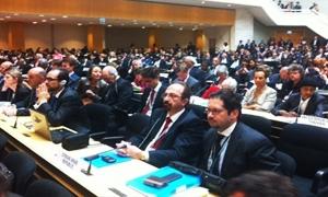 بحضور وزير الصحة السوري.. انطلاق أعمال الدورة الـ66 لجمعية الصحة العالمية في جنيف