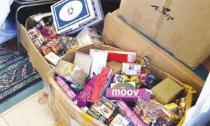 حماية المستهلك تضبط أغذية أطفال مخالفة في بعض المولات التجارية بدمشق