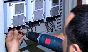 تركيب 126 ألف عداد كهربائي جديد في سورية خلال العام 2014