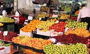 اسعار الخضار والفواكه تحافظ على مستوياتها المرتفعة وكيلو البندورة يقفز الى 75 ليرة