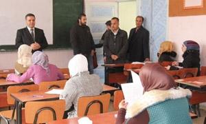 جامعة دمشق: ضبط 50 مخالفة امتحانية ولجان تفتيشية مفاجئة