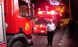 محافظة دمشق تسجل أكثر من 5 آلاف حريق و93 يلاغاً كاذباً منذ بدء الأزمة