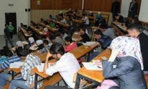 بدء الامتحانات في بعض كليات