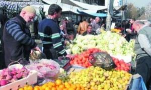 قبيل دخول الأسواق شهر رمضان.. أسعار الخضار والفواكه في دمشق تواصل انخفاضها