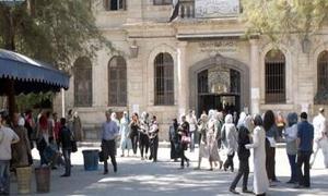 إعلان أسماء المقبولين من ذوي الشهداء بمنح الجامعات الخاصة