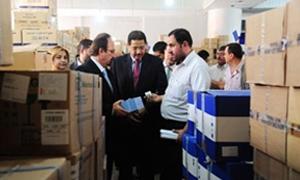 مفوضية الأمم المتحدة تقدم شحنات دوائية بقيمة 1.2 مليون ليرة لسورية تتضمن أدوية نوعية