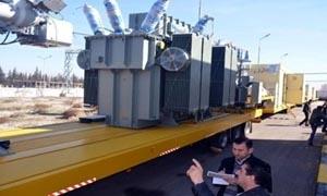 وزارة الكهرباء: وصول 4 محطات تحويل توتر نقالة بكلفة 4 ملايين يورو
