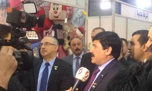 حمور: عقود تصديرية ضخمة للمنتجات السورية خلال معرض الألبسة الأول في بغداد