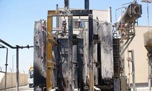 خروج محطة القابون2 للكهرباء عن الخدمة بسبب حرق المحولات الرئيسية