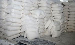 تموين دمشق تنظيم أكثر من 3700 ضبط تمويني خلال الربع الأول 2015.. ومصادرة 214 طن طحين تمويني مهرب