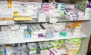 التجارة الداخلية بدمشق تضبط 15 طنا من الأدوية