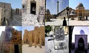 بالصور : إدراج 6 مواقع أثرية سورية على قائمة اليونسكو للتراث العالمي المهدد