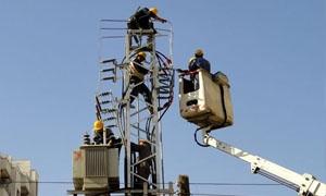 كهرباء حمص: بتكلفة 150 مليون ليرة بناء 6 مراكز تحويل جديدة