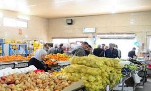بأسعار أقل من السوق بـ50% خزن السويداء تبيع نحو 6.5 أطنان من الفواكه خلال يومين